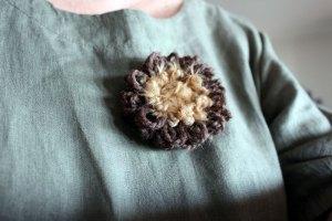 Une p'tite fleur pour décorer votre encolure