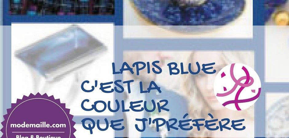 Lapis Blue: c'est la couleur que j'préfère