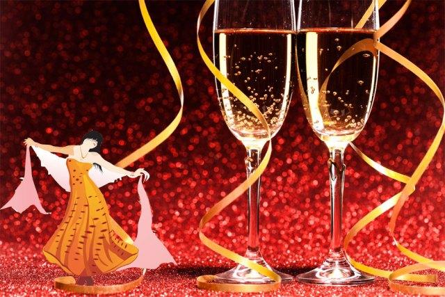 Veste Champagne pour fêter l'hiver dignement
