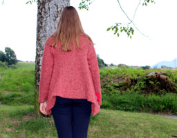 Manteau Tsarine rouge