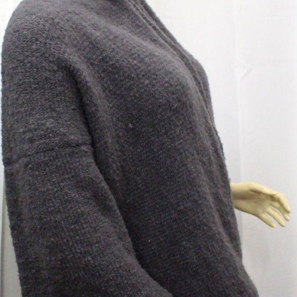 Veste Kimono Unie, couleur gris foncé