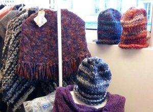 Bonnet 100% tricoté, 100% laine, 100% mode
