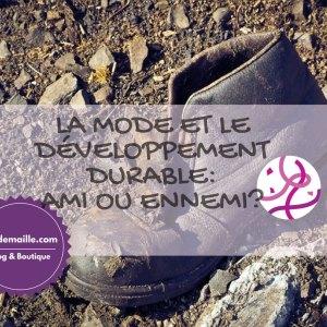 Mode et développement durable: ami ou ennemi?