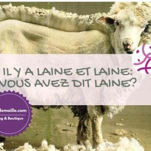 Il y a laine et laine: vous avez dit laine?