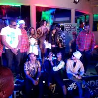 BLACK COMMANDO BACKSTAGE WITH STANLEY ENOW, FUSE ODG, OLAMIDE, PHYNO IN SOUTH AFRICA