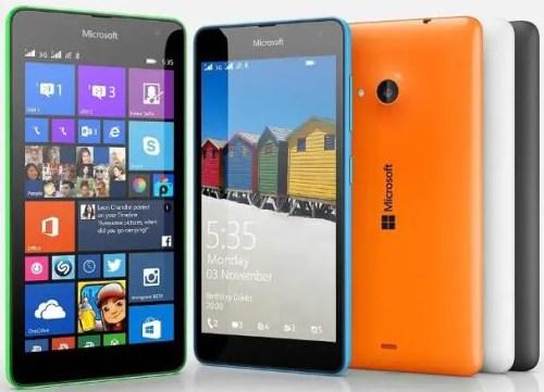 Microsoft Lumia 535 with Dual SIM