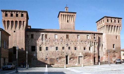 Castello delle Rocche di Finale Emilia - Terremoto