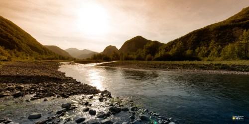 Corso fluviale Fiume Secchia (Articolo Fiume Secchia e Panaro)
