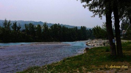 Corso fluviale fiume Panaro (Articolo Fiume Secchia e Panaro)