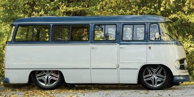 1959 Mercedes Benz O 319 Camper Van
