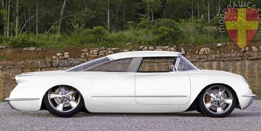 1954 Chevrolet Corvette Corvair (update)