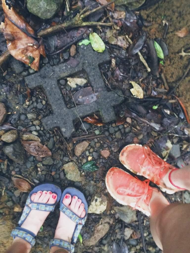 Hashtag in the wild, Rio Celeste Hike, Costa Rica