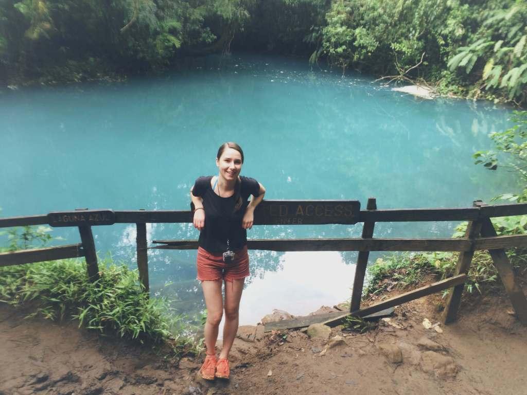 Lagoon, Rio Celeste Hike, Costa Rica