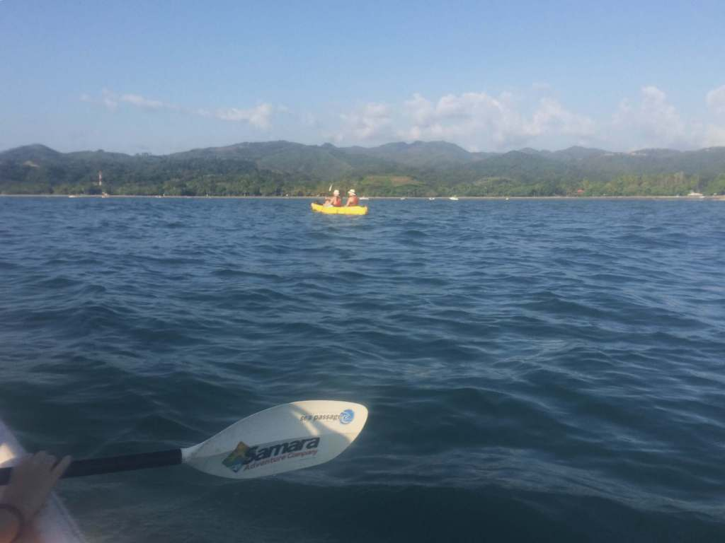 Kayaking to Isla Chora, Samara, Costa Rica