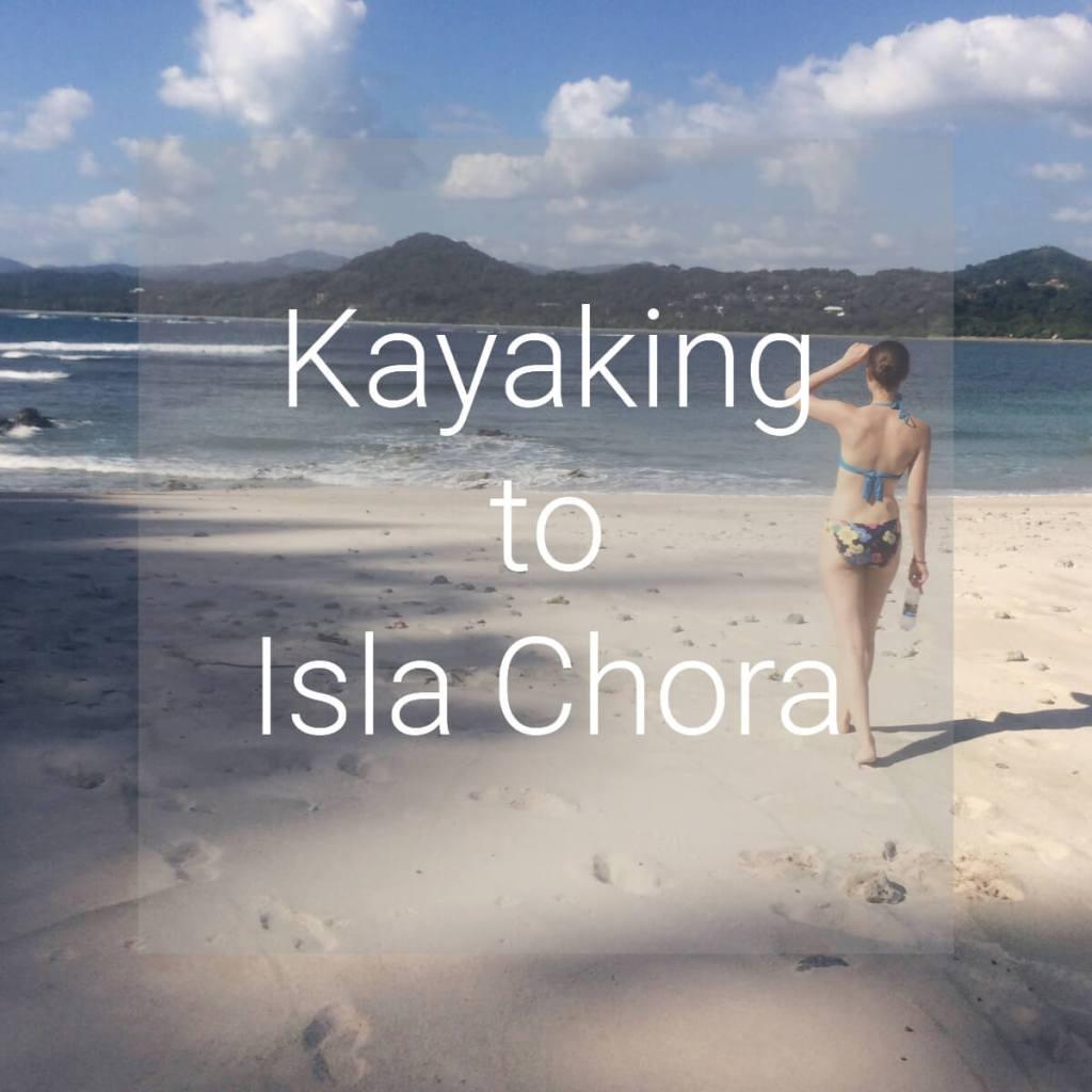 Kayaking to Isla Chora, Samara, Costa Rica