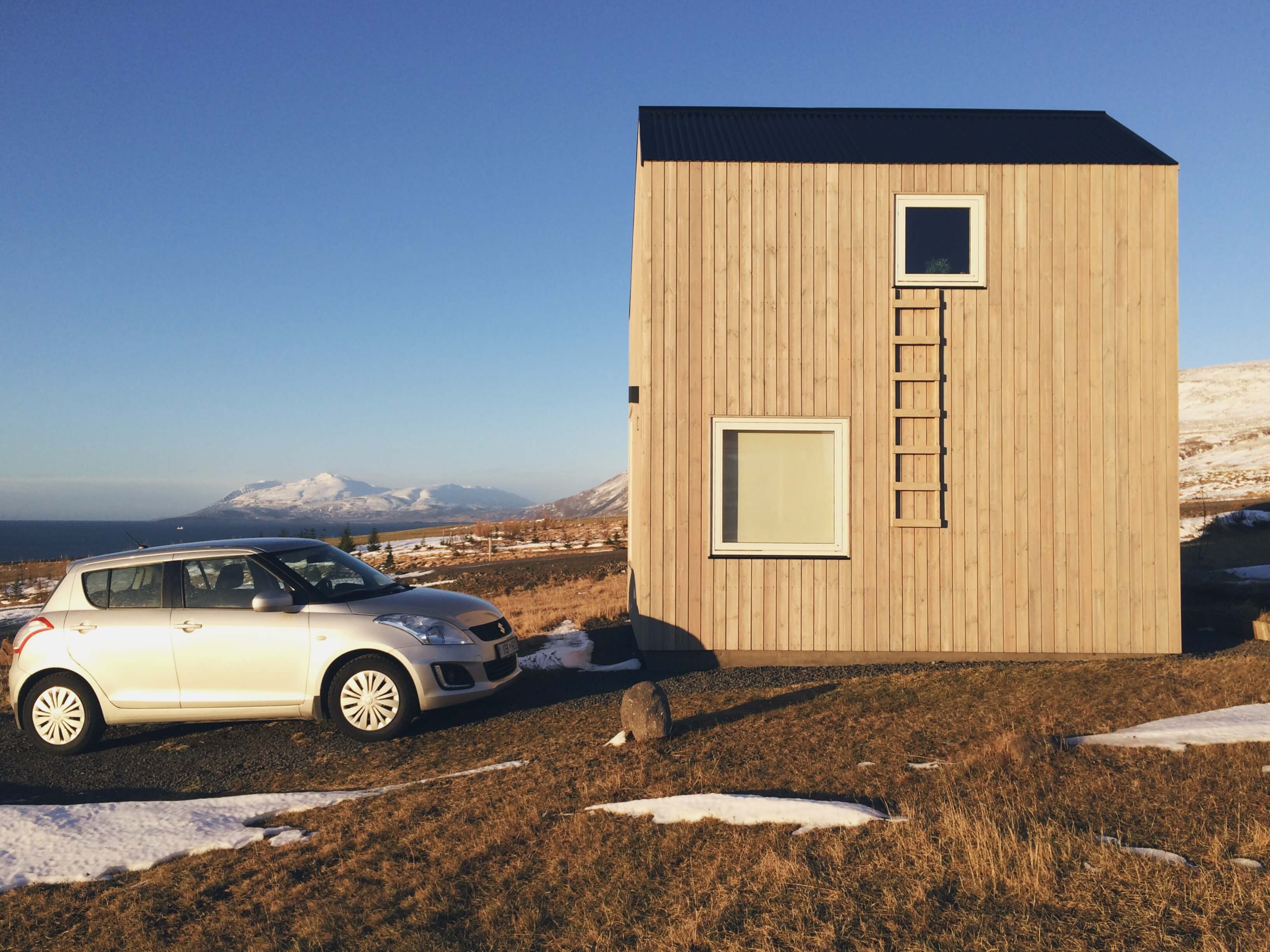 Akureyri unique cabin from Airbnb, Iceland