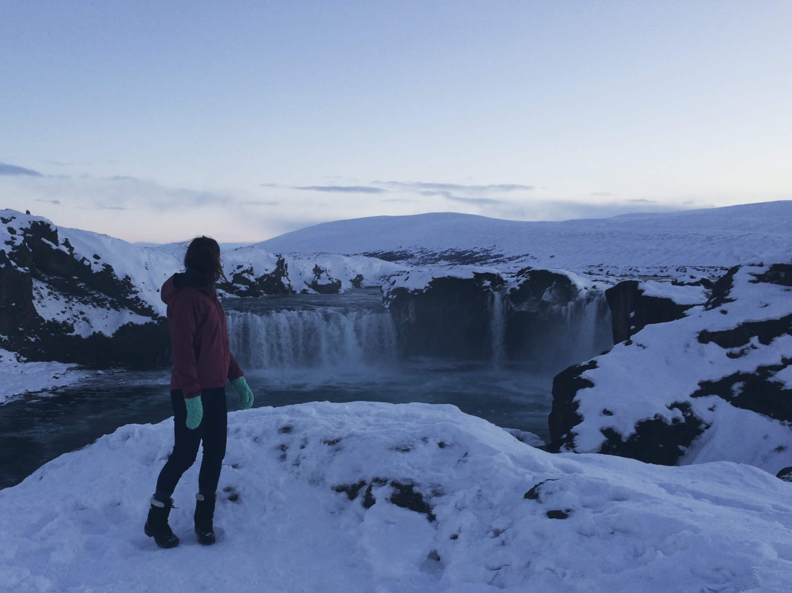 Travel Iceland - Akureyri, Godafoss Waterfall, North