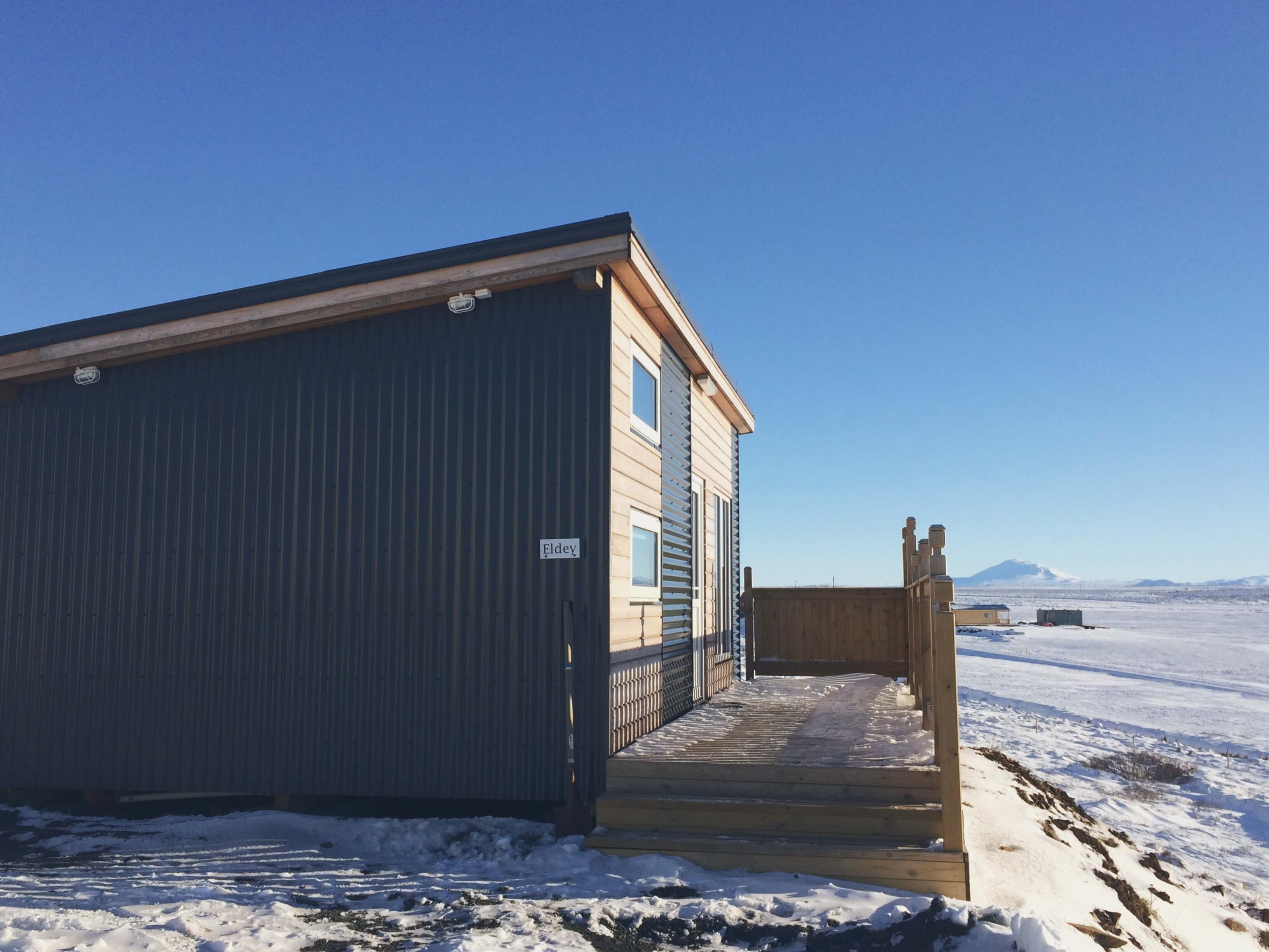 Winter cottage, Airbnb, Iceland Budget Travel