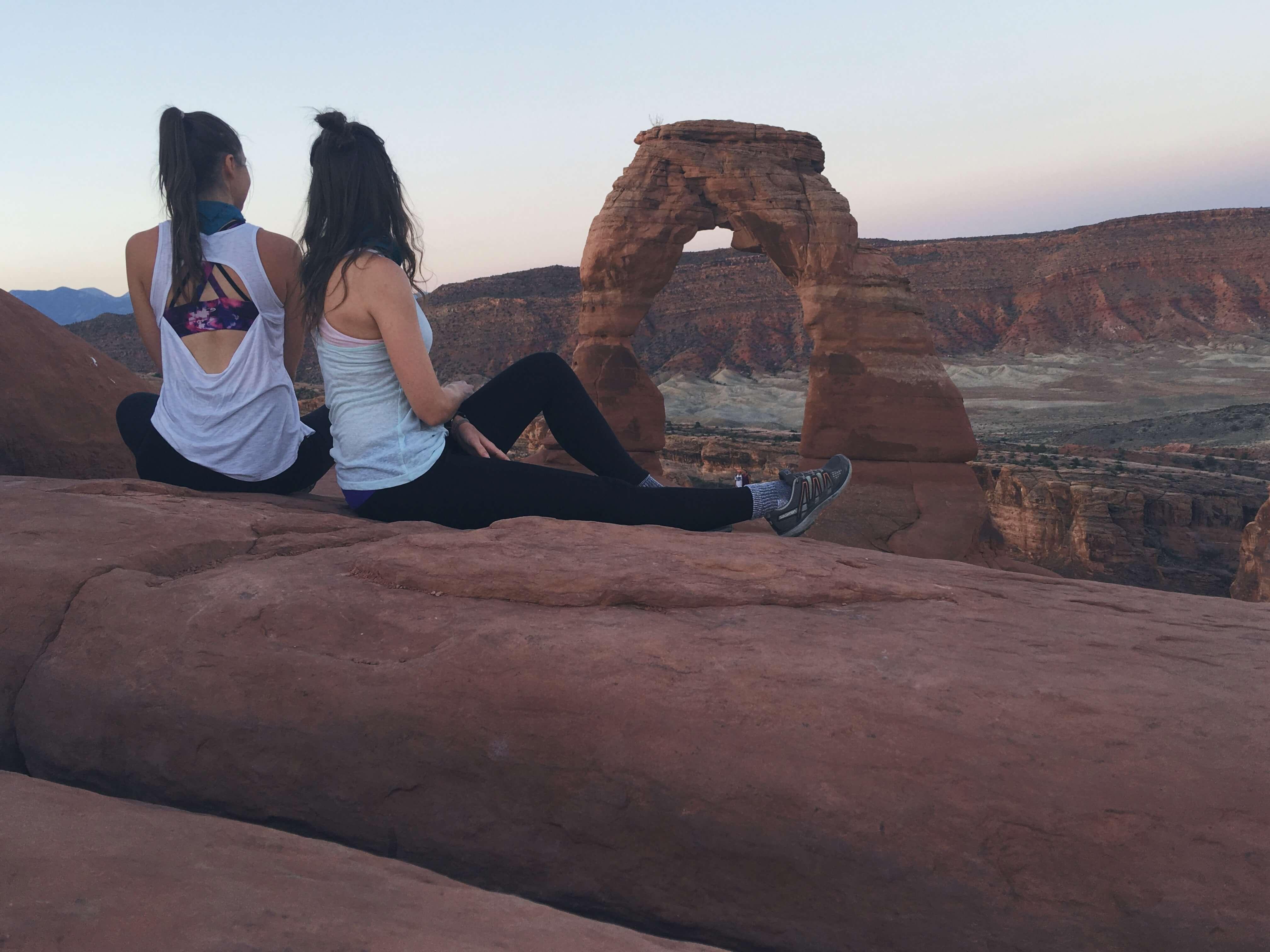 Delicate Arch at sunrise, Utah