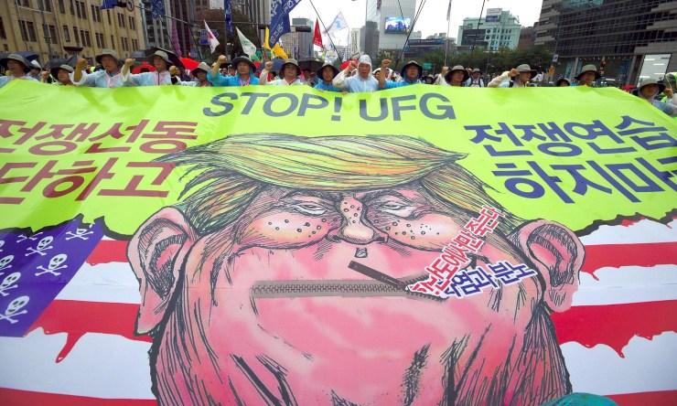 moderate rebels north korea
