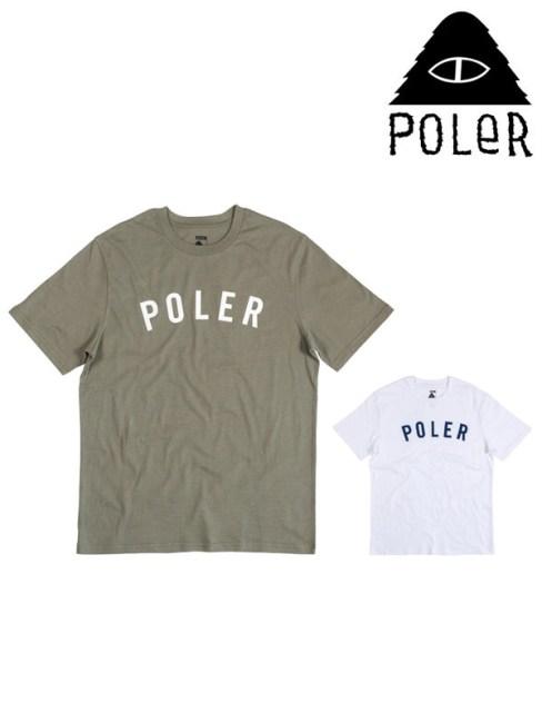 POLeR,ポーラー,STATE TEE,ステート ティーシャツ