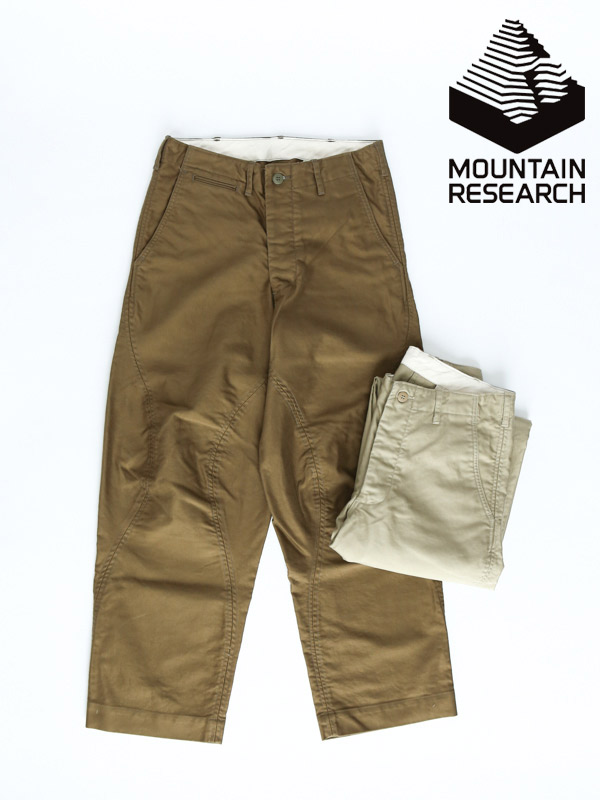 Mountain Research,マウンテンリサーチ,Big Knee Chino,ビッグニーチノ