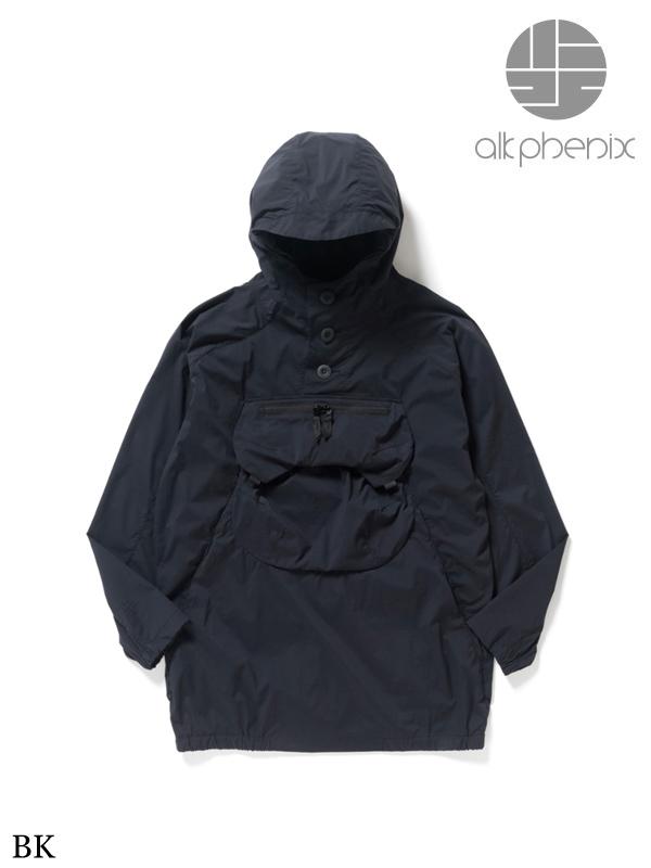 alk phenix,アルクフェニックス,zak anorak #BK,ザックアノラック ブラック