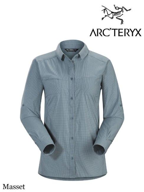 ARC'TERYX,アークテリクス,Women's Fernie Shirt LS #Masset,ファーニー LS シャツ ウィメンズ (レディース)