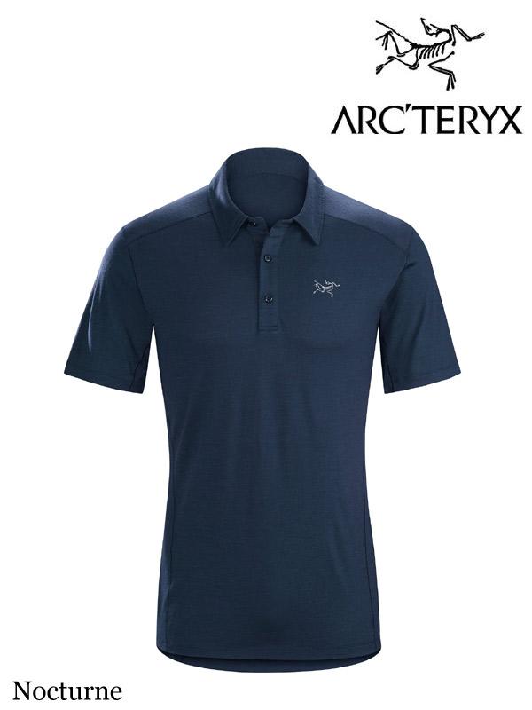 ARC'TERYX ,アークテリクス, Pelion Polo Shirt #Nocturne ,ぺリオン ポロシャツ メンズ