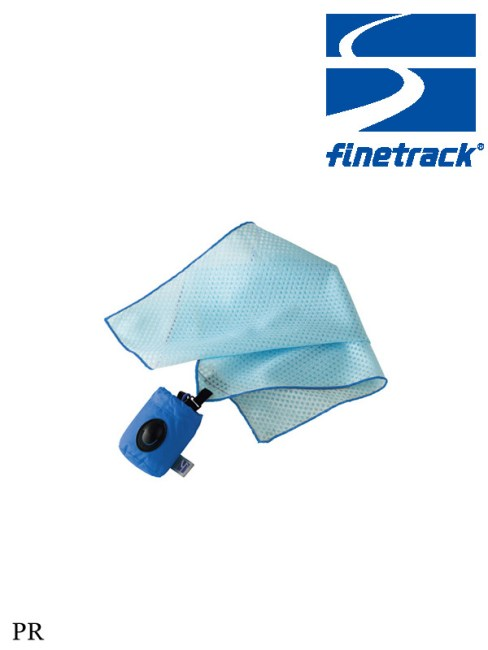 Finetrack,ナノハンカチ PR,ファイントラック