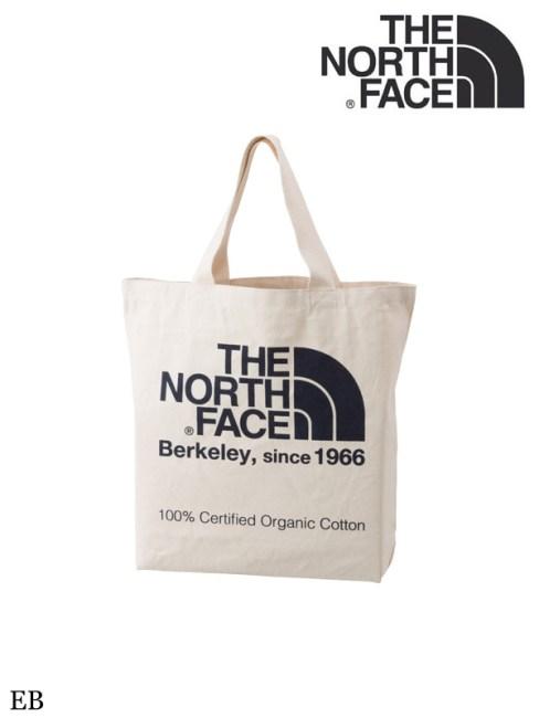 THE NORTH FACE,ノースフェイス,TNF ORGANIC COTTON TOTE #EB,TNFオーガニックコットントート