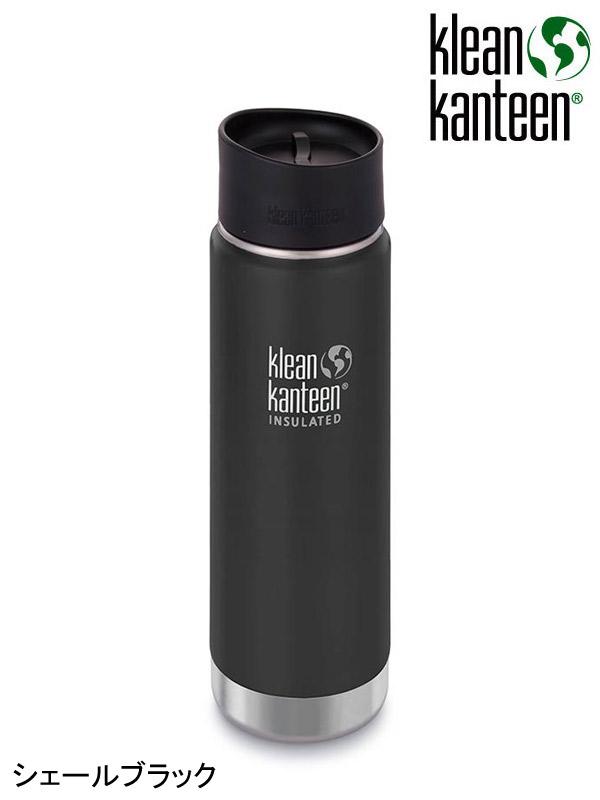 klean kanteen,クリーンカンティーン, ワイドインスレート CAFE 20oz (592ml) #シェールブラック