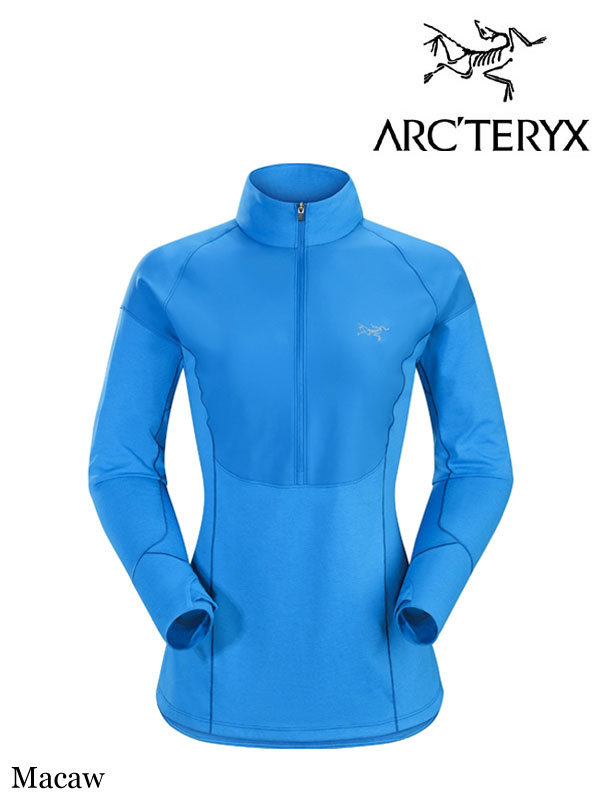 ARC'TERYX,アークテリクス,Women's Taema Zip Neck Shirt LS #Macaw ,ティーマ LS ジップネック シャツ ウィメンズ