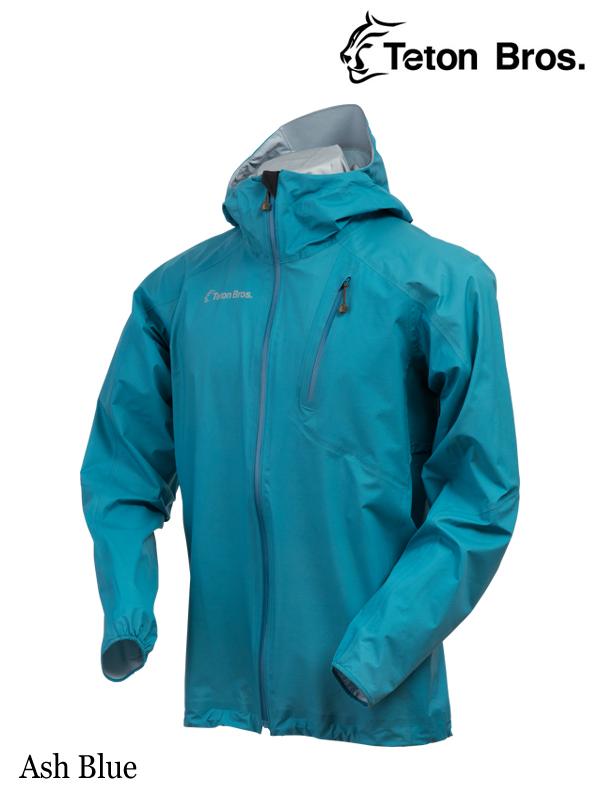 Teton Bros.,ティートンブロス,Feather Rain Full Zip Jacket (Unisex) #Ash Blue ,フェザーレインフルジップジャケット(ユニセックス)