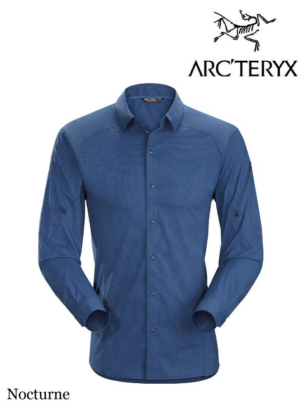 ARC'TERYX,アークテリクス,Elaho Shirt LS #Nocturne ,イラオ LS シャツ メンズ