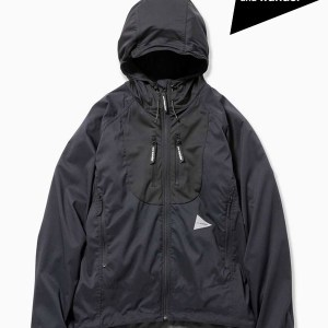 and wander,アンドワンダー ,W's trek jacket #black ,トレックジャケット (レディース)