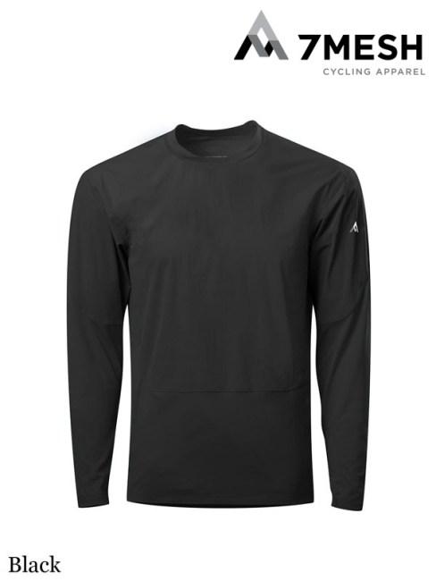 7mesh,COMPOUND SHIRT LS MEN'S #Black ,セブンメッシュ,コンパウンドシャツ LS メンズ