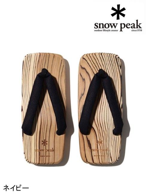 snow peak,スノーピーク ,Mens HITA Geta #1 #ネイビー ,スノーピーク メンズ 日田下駄 #1
