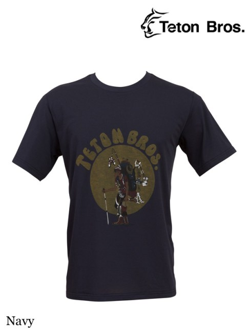 Teton Bros.,ティートンブロス,TB ハイカー 18 ティー,TB Hiker 18 Tee (Men) #Navy