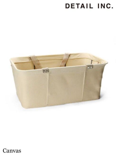 "DETAIL INC.,Shopping Baskets ""1 Basket"" #Canvas ,ディティール インク,ショッピングバスケット ""1バスケット"