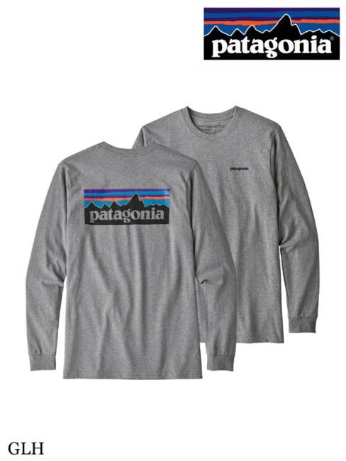 patagonia,パタゴニア, Men's LS P-6 Logo Responsibili Tee #GLH ,メンズ・ロングスリーブ・P-6ロゴ・レスポンシビリティー