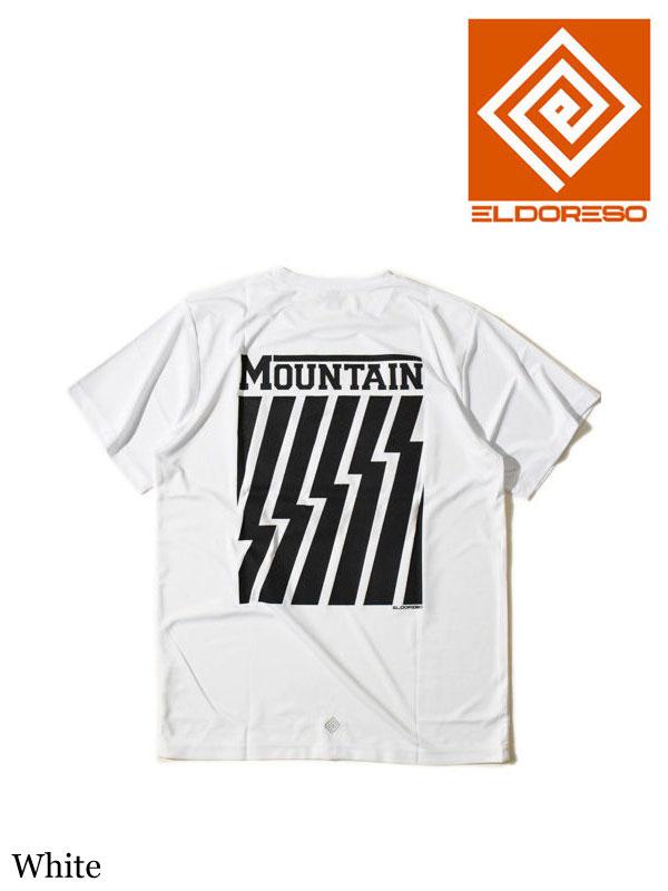 ELDORESO,Mountain T #White ,エルドレッソ マウンテンT