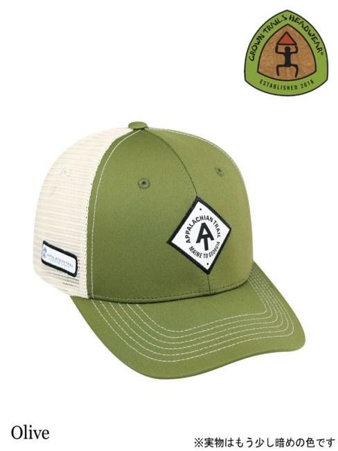 Crown Trails Headwear,Ranger Adjustable (Appalachian Trail) #Olive ,レンジャーアジャスタブル (アパラチアントレイル),クラウントレイルズヘッドウェア