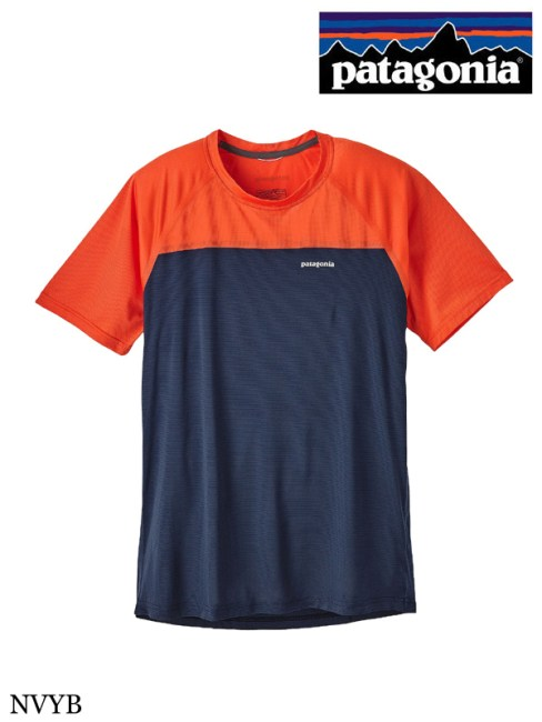 patagonia,パタゴニア ,Men's Short-Sleeved Windchaser Shirt #NVYB ,メンズ・ショートスリーブ・ウインドチェイサー・シャツ