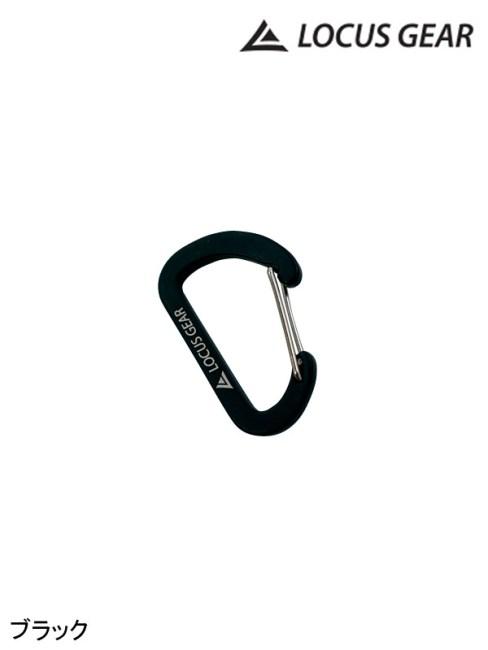 Locus Gear,ローカスギア ,Mini Carabiner #ブラック ,ミニカラビナ
