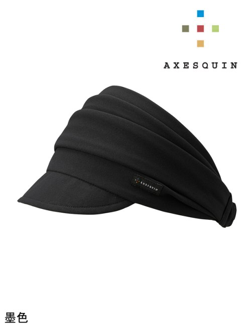 AXESQUIN,アクシーズクイン,UPF50+ ヘアバンド #S82墨色