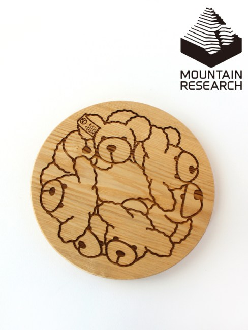 Mountain Research,マウンテンリサーチ,Bear Lid (for Plate) ,ベアリッド (for Plate)