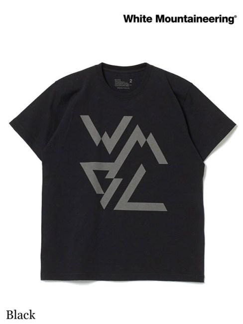 White Mountaineering,WMBC REFLECTIVE PRINTED T-SHIRT #Black ,ホワイトマウンテニアリング,WMBC リフレクティブ プリンテッド Tシャツ