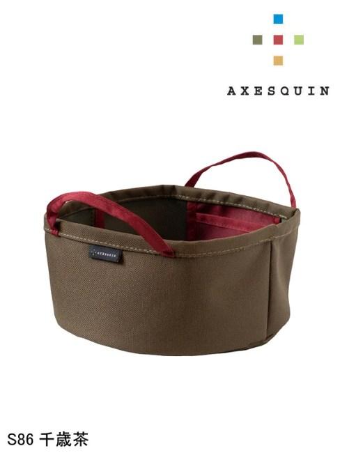AXESQUIN,アクシーズクイン,ヌノバケツ(小) #S86千歳茶