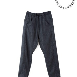 山と道|5-Pockets Merino Pants  #Charcoal